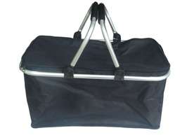 Liberty Black Collapsible Carry Basket