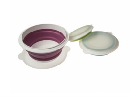Kampa Set of 3 Collapsible Silicone Bowls with lids