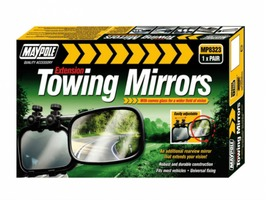 Maypole Pair of Extension Towing  Mirrors (Convex)