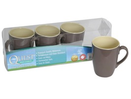 Quest Two Tone 4 Pack of Mug Set Burslem