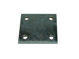 Maypole Zinc Plated 4inch Towbar Drop Plate