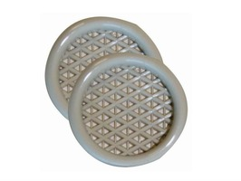 W4 Push-in Vent Beige - Pack 2