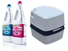 Royal Porta Potti & Thetford Duo Pack Chemical Package