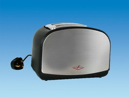Powerpart 230V Chrome Toaster
