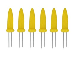 Metaltex Corn Skewers - Pack 6