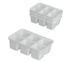 Metaltex Mini Ice Cube Trays Set of 4