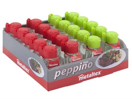 Metaltex Peppino Salt and Pepper Shakers