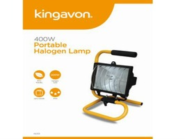 Kingavon Portable Halogen Lamp 230v 400W