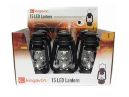 Kingavon 15 LED Small Hurricane Lantern