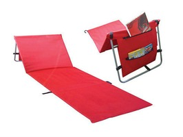 Redwood Folding Adjustable Sun Lounger Mat
