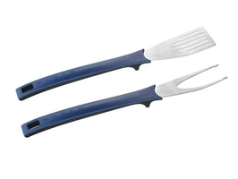 Cadac Magnetic Curved Spatula & Fork Set