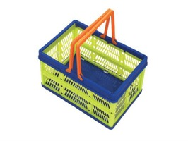 Handy Folding Click Storage Box with Handles