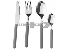 Brunner Delice Grey 16 Piece 16 Piece Cutlery Set