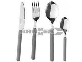 Brunner Delice Grey 16 Piece Cutlery Set