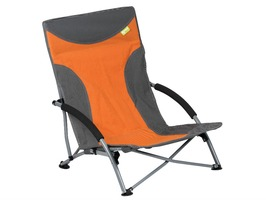 Kampa Sandy High Back Low Chair Burnt Orange