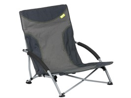 Kampa Sandy High Back  Low Chair Charcoal