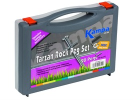 Kampa Tarzan Rock Peg Pack - 20 Pegs