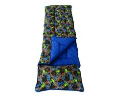 Sunncamp Junior Sleeping Bag with Pillow - Bugs