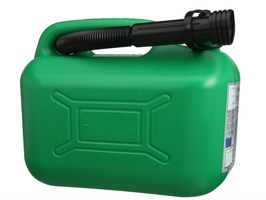 Plastic Unleaded Fuel Can 5L