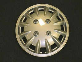 "Milenco Set 2 13"" Silver Wheel Trims 337S"