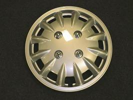 "Milenco Set 2 13"" Silver Wheel Trims 337S"