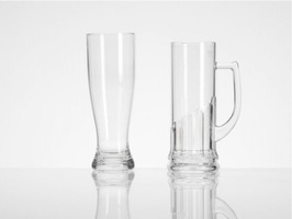 Flamefield Acrylic Pilsner Glass