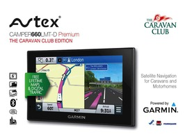 Avtex Camper Premium Satellite Navigation