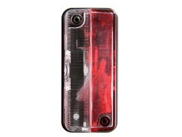 Hella Side Marker Red/Clear Lamp