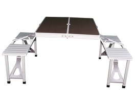 Quest Elite Gloucester Deluxe Folding Table & Chair Set