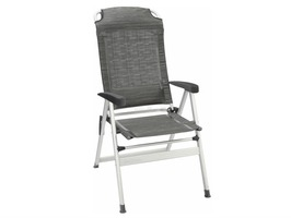 Brunner Kerry Slim Aluminium High Back Recliner Chair Carbon