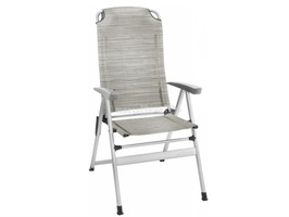 Brunner Kerry Slim Aluminium High Back Recliner Chair Platin