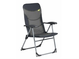 Kampa Skipper High Back Padded Reclining Chair Charcoal