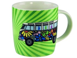 VW Camper  Bone China Mug T1 Love Bus Gift Boxed