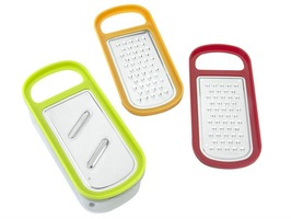 Metaltex Rap Box 3 in 1 Grater with Container