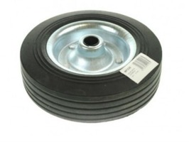 Maypole 200mm Steel Jockey Wheel with Solid Rubber tyre