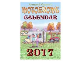 2017 Motorhome Calender - Armand Foster's cartoons