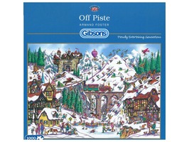 'Off Piste' Jigsaw Puzzle
