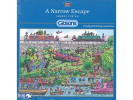 'A Narrow Escape' Jigsaw Puzzle