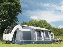Kampa Classic AIR Expert 380 with Dual Pitch Roof