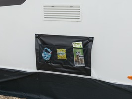 Kampa Double Wheel Arch Cover with Limpet Fix system