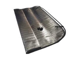 Streetwize Folding Aluminium Sunshade 140 x 70cm