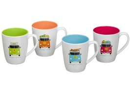 Camper Smiles 4 Pack Mug Set