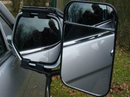 Maypole Large Dual Glass Towing Mirror