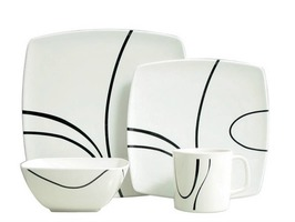 Flamefield Zen 16pce Melamine Tableware Set
