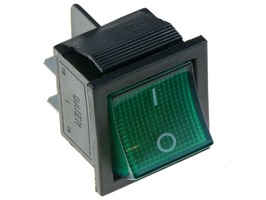 Dometic Rocker Switch Green