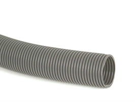 Caravan Waste Pipe 28.5mm Convoluted - Grey