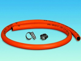 Orange Gas Hose Assembly