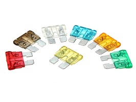 PLS Pack 10 Assorted Standard Flat Blade Fuse