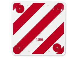 PVC Reflective Hazard Sign with Reflectors