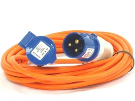 Caravan Extension Mains Lead 10 Metre